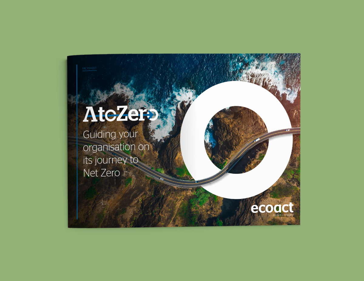 Net Zero Strategy - modular programme by EcoAct climate ans sustainability Consultancy