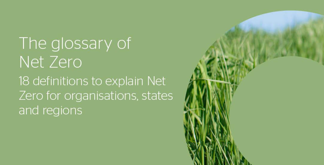 Net Zero Glossary
