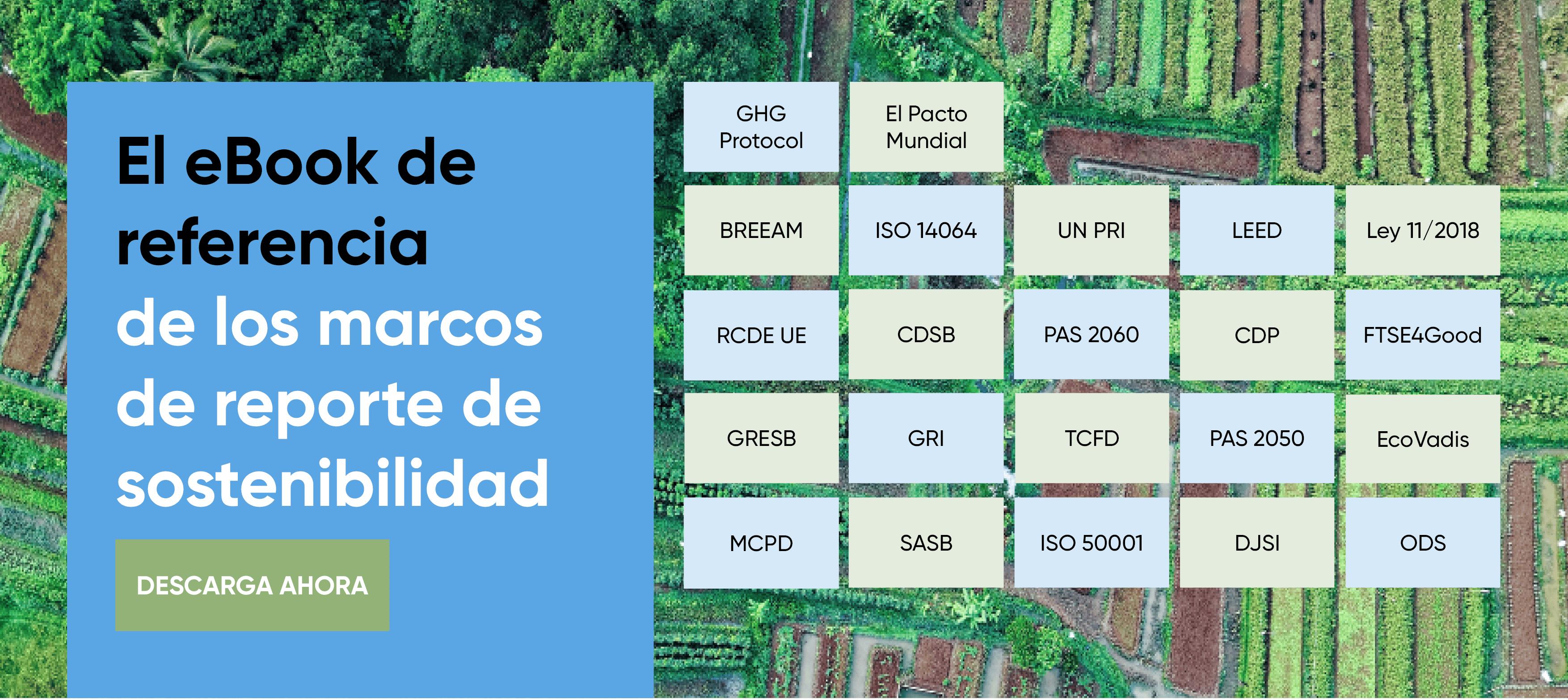 El eBook de referencia de los marcos de reporte de sostenibilidad