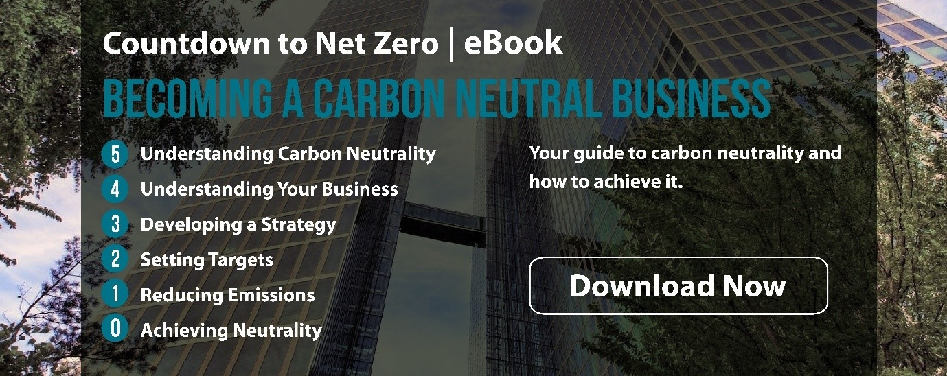 Becoming a carbon neutral business - eBook