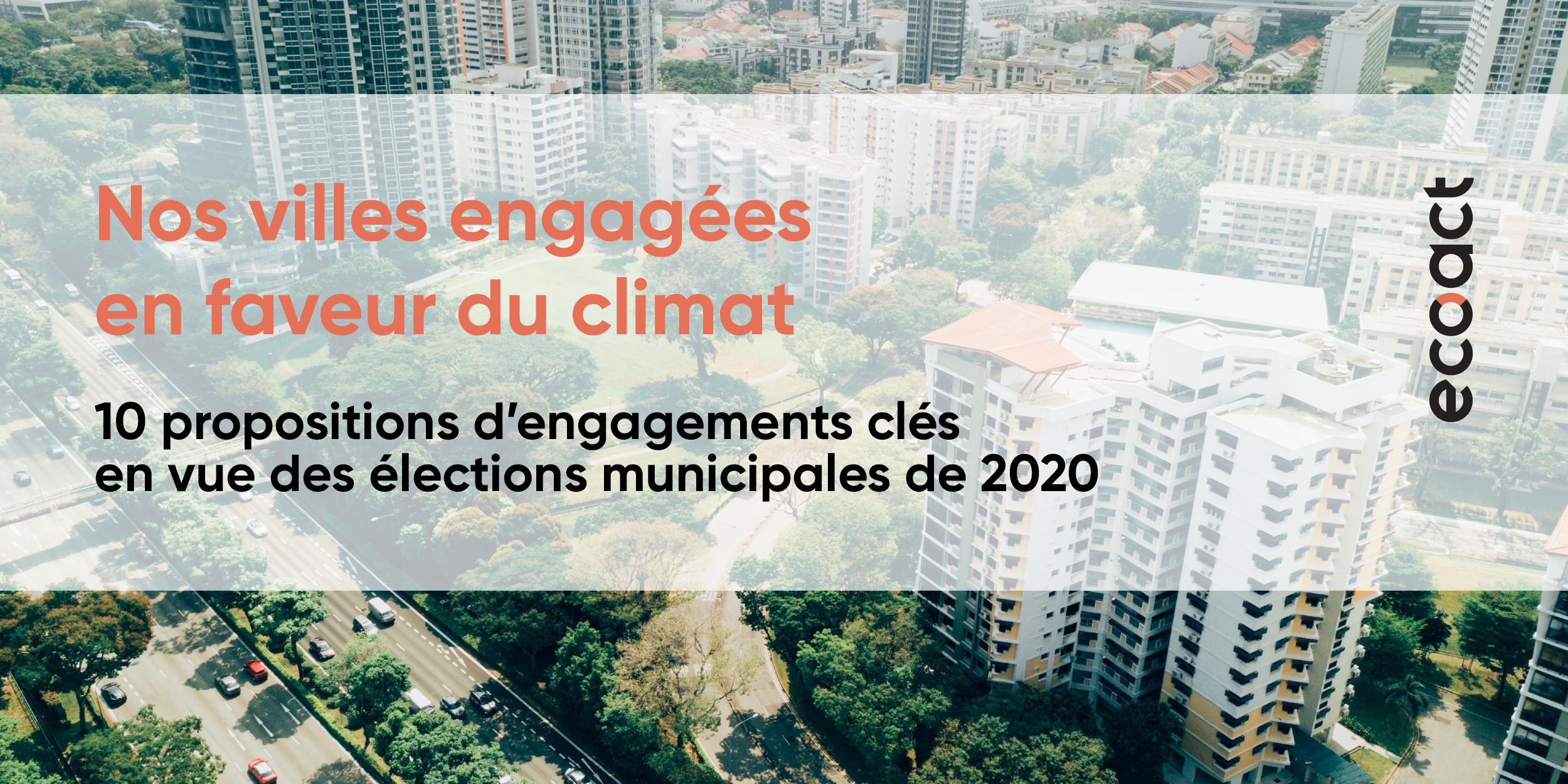Nos villes engagées en faveur du climat