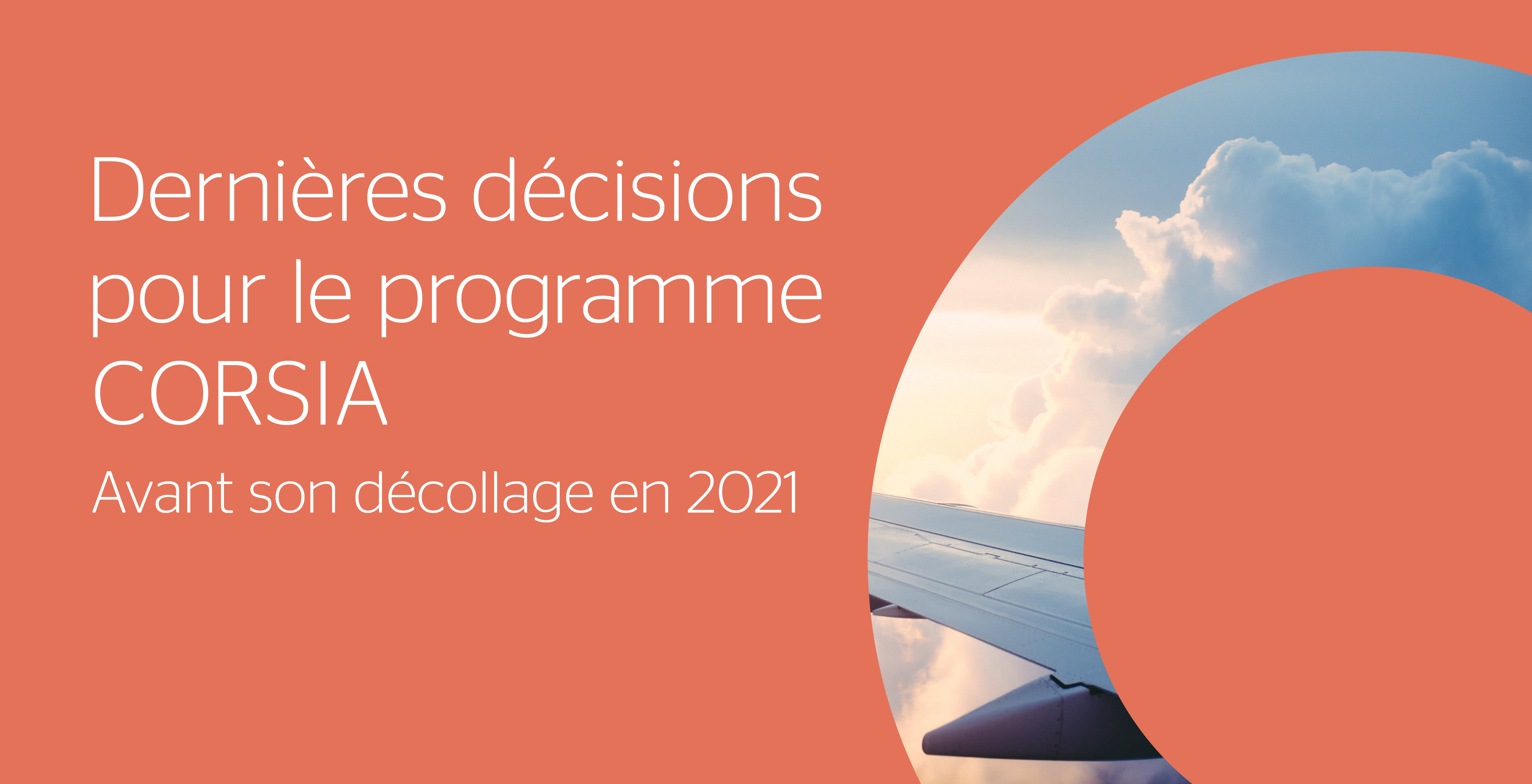 Le programme CORSIA est prêt à décoller en 2021
